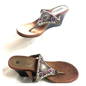 White Mountain beaded wedges